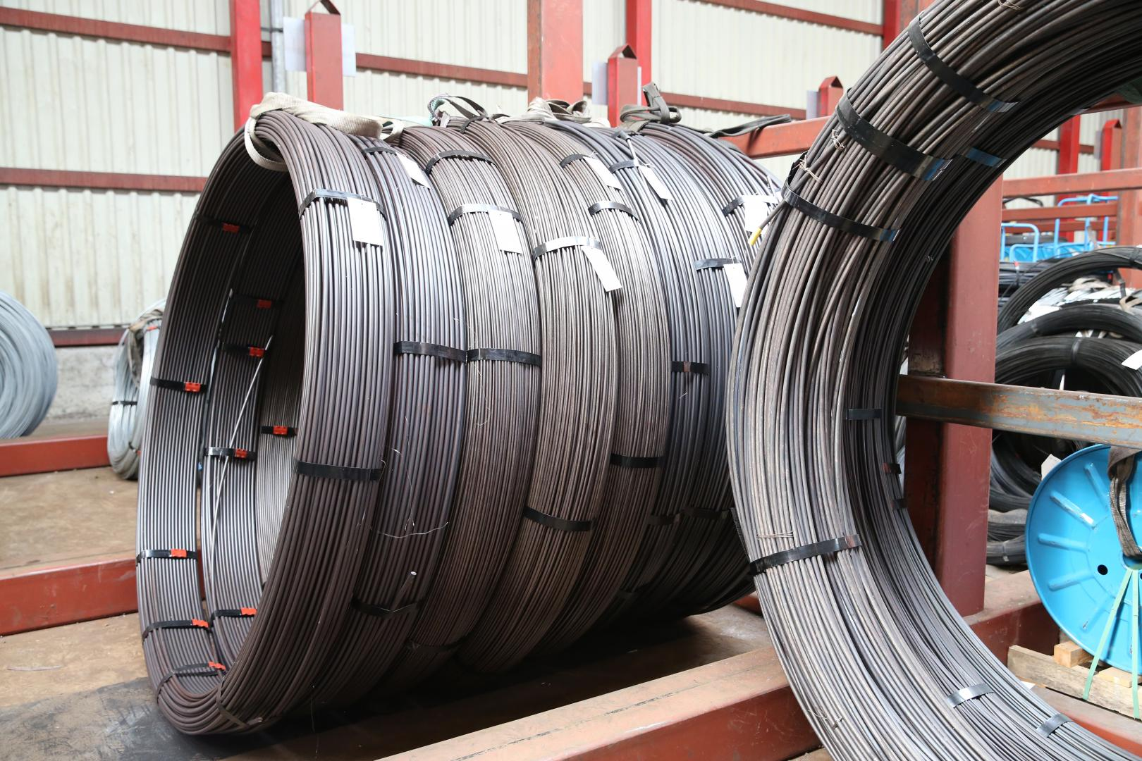 High carbon oil tempered steel wire | KODDAERT nv
