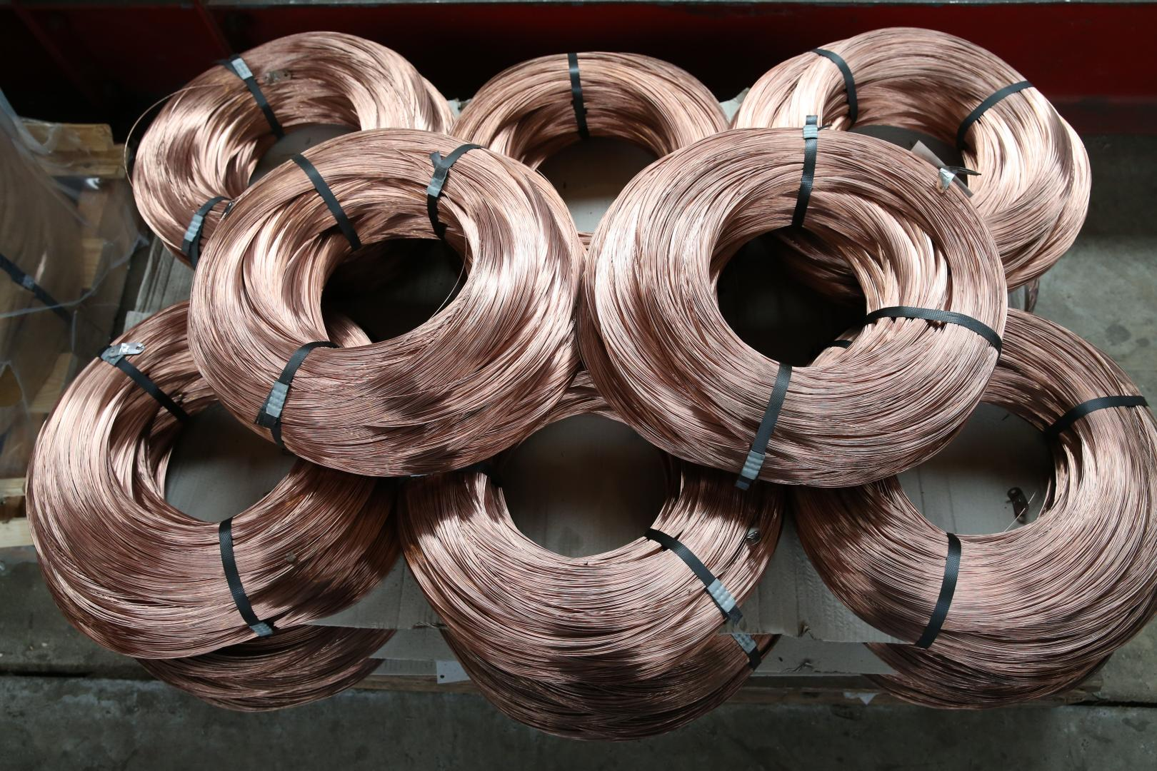 High carbon Cu-coated steel wire   KODDAERT nv